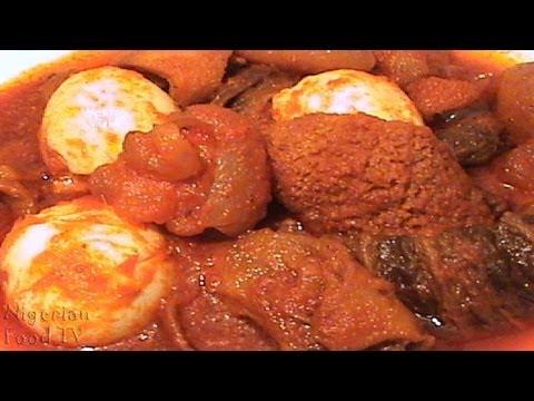 Obe Ata Dindin (Buka Stew): Nigerian Fried Pepper Stew| Nigerian Food Recipes