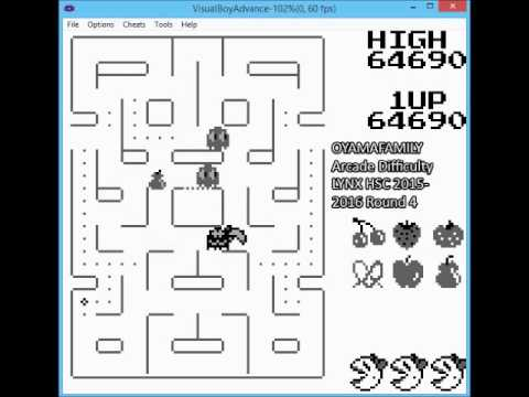 Gameboy Ms Pacman 220000pts for LYNX HSC 2015-2016 Round 4