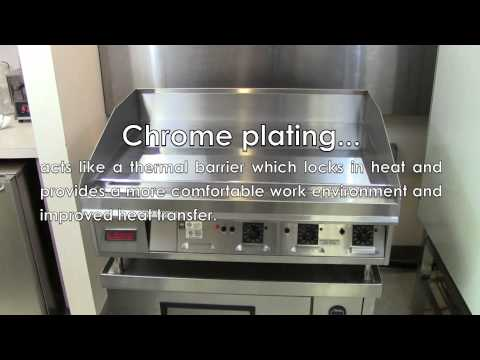 Benefits of Chrome Griddles
