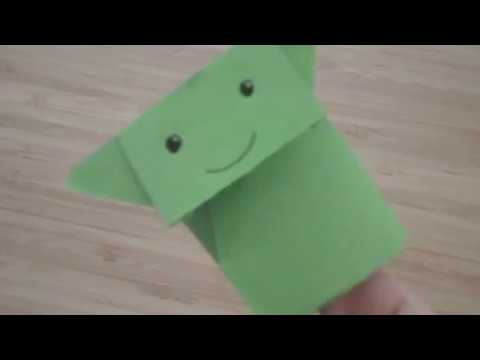 How to make Origami Yoda: EASY