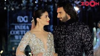 Ranveer Singh & Alia Bhatt win the Best Actor & Best Actress awards   Bollywood News