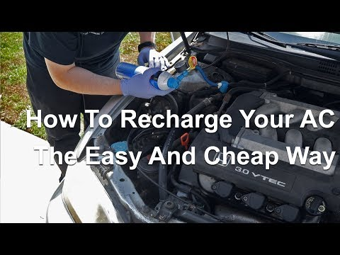 How to Recharge Your Car's Air Conditioner System Fast and Easy