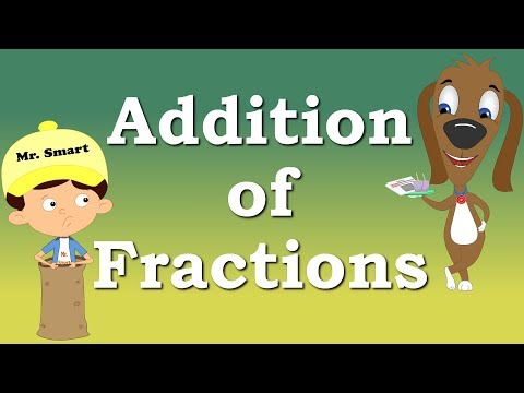 Addition of Fractions for Kids | It's AumSum Time