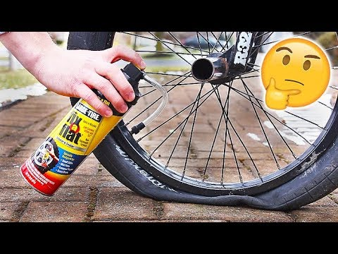 Can you use Fix-A-Flat on a Bicycle?