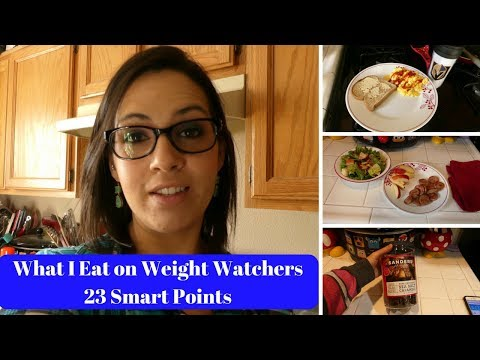 Weight Watchers - What I Eat in a Day 23 Smart Points