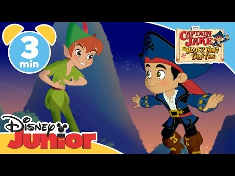Captain Jake and the Never Land Pirates | Pirate Fool's Day! | Disney Junior UK