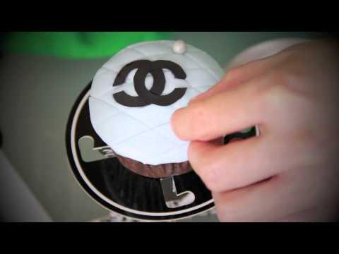 DIY Designer Inspired Cupcakes: Chanel, Prada, D&G, Hermes, Versace, & MIU MIU
