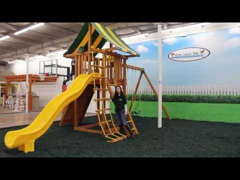 The Ultimate Cedar Swing Set