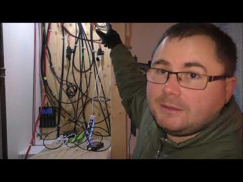 Testing Off Grid Charging Shelf