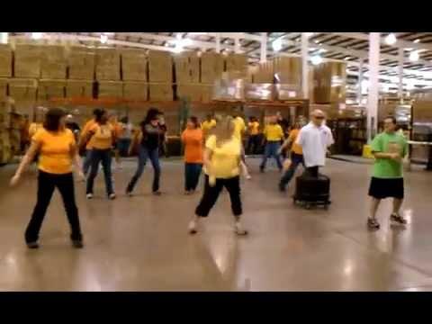 Flash Mob at Work