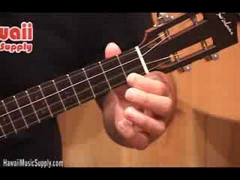 Ukulele Lessons - Left Hand Position - Hawaii Music Supply