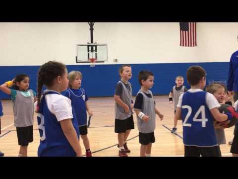 Jordan scores a basket!