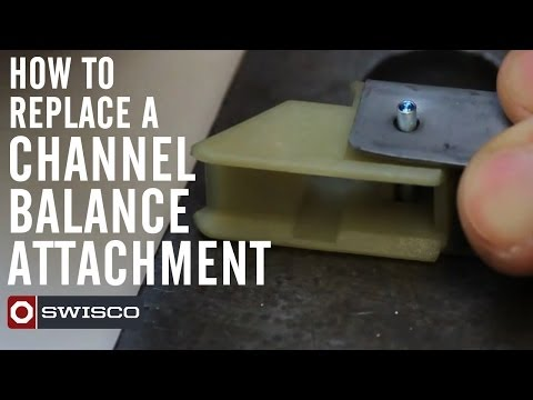 How to replace a channel balance attachment