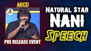 Natural Star Nani Fantastic Speech @ ABCD Pre Release Event | Allu Sirish | Rukshar Dhillon