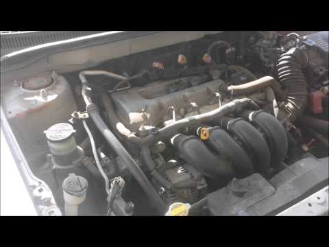 How to Change Spark Plugs on a Toyota Corolla 2003-2008 1.8L 4 Cylinder engine DIY