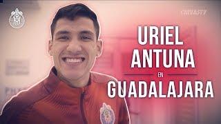 El primer día de Uriel Antuna en Chivas | Detrás de la presentación