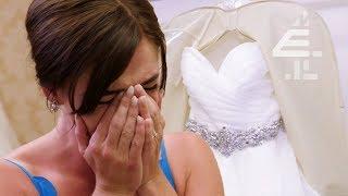 Bride In Tears IMMEDIATELY When She Sees Dress | Don