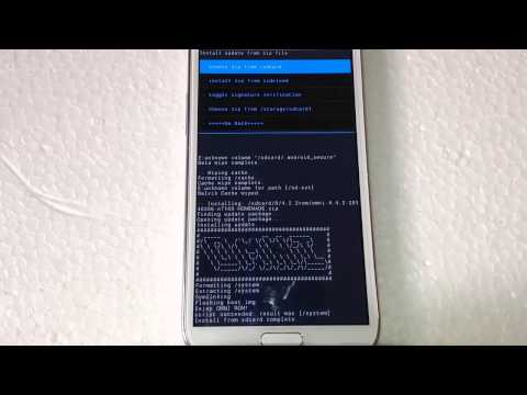 How to Install Android 4.4.2 Kiktak Omni ROM on Galaxy Note 2 N7100 [MultiWindow & OmniSwitch]