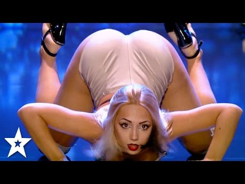 Xxx Mp4 Is This The SEXIEST Audition Yet Erotic Dancer Wows Judges Got Talent Global 3gp Sex