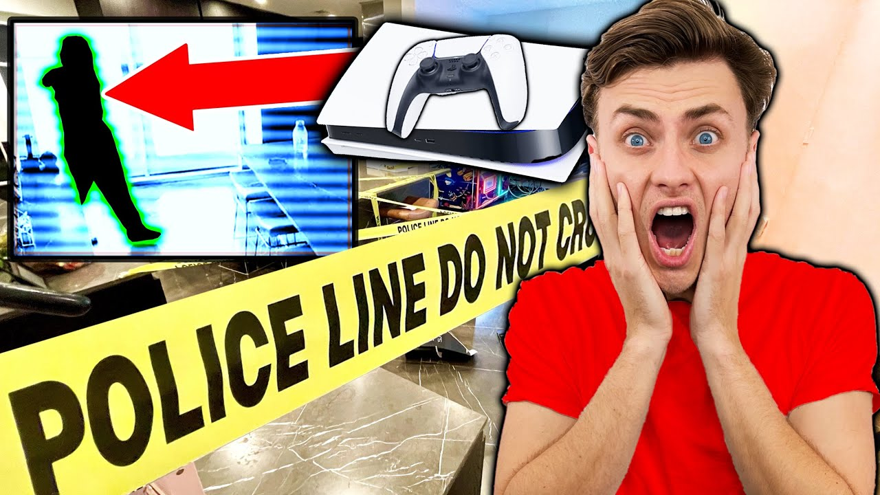 SOMEONE STOLE MY PS5!!