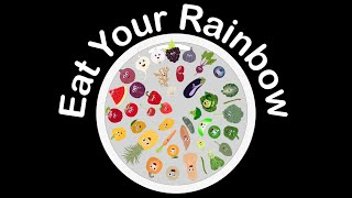 Fruits And Veggies For Kids/vegetable And Fruit Song/eat Your Rainbow