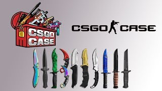 CSGO-CASE.COM Introduction & Coin Flip and Case Opening