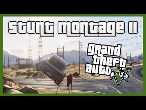 GTA 5: Stunt Montage II!
