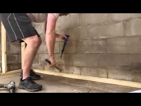 How to use a powder actuated hammer