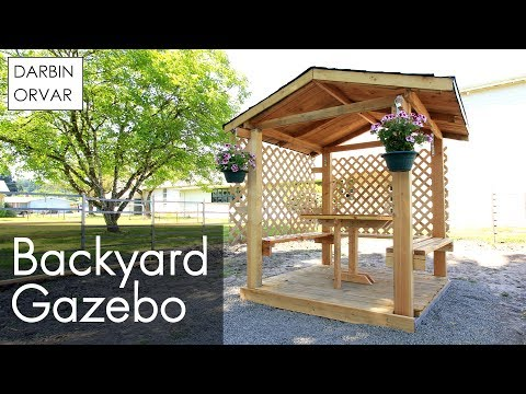 DIY Gazebo Build Part 2