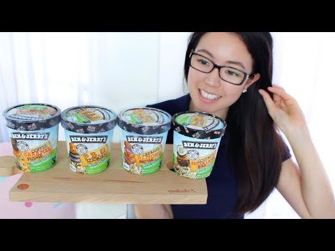 🍦Trying Ben and Jerry's Vegan Ice Cream in Australia! | rosellalee