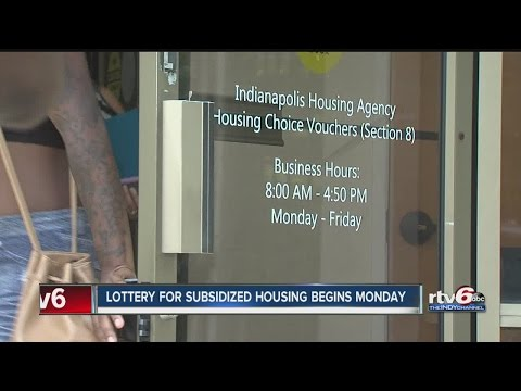 Indianapolis families hoping to win lottery for Section 8 housing
