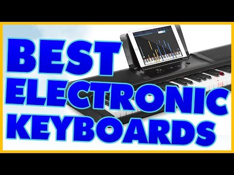 10 Best Electronic Keyboard Reviews 2017