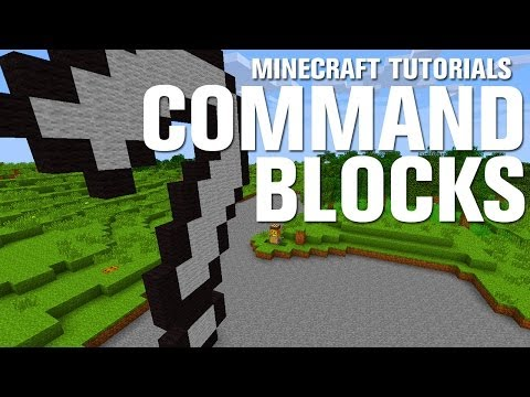 Minecraft Tutorials: Command Blocks