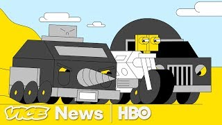 Uber & Google Race For The Self-Driving Car (HBO)