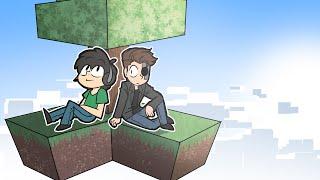 Two Idiots Play Skyblocks ~ Minecraft Funny Moments!