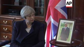 UK PM meets Jordan counterpart