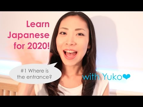 Learn Japanese for Tokyo2020 #1