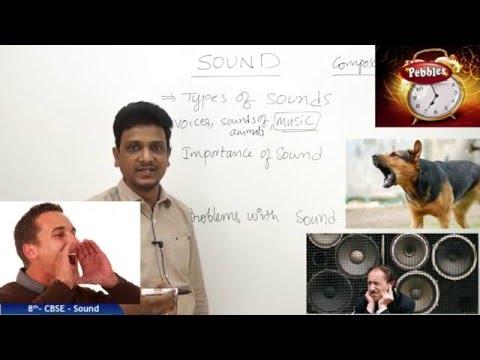 Sound   Class 8th Science-Physics   NCERT   CBSE Syllabus   Live Videos