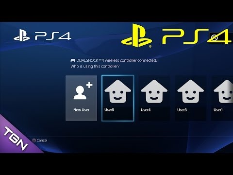 How to add a New User In Offline Mode - PS4 Menu Interface Tips & Tricks