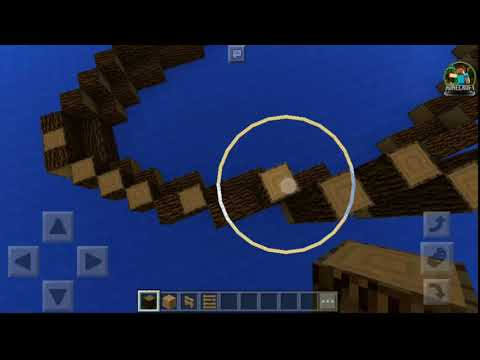 How to Build a Pirate Ship EP.1 (Minecraft Pocket Edition)