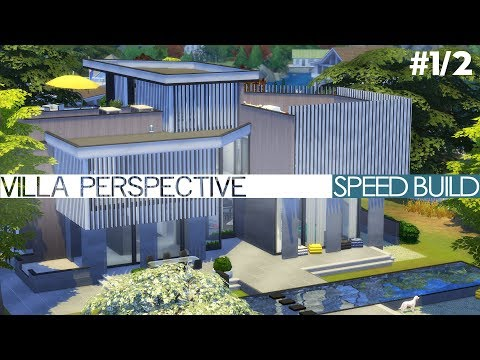The Sims 4 Speed Build - VILLA PERSPECTIVE (#1/2)
