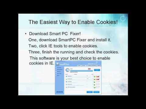 How to Enable Cookies?