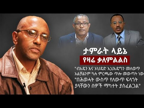 Download Tamrat Layne on the current Ethiopian political