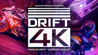 ICON - Motorcycle vs. Car Drift Battle 4 (Full 4K)