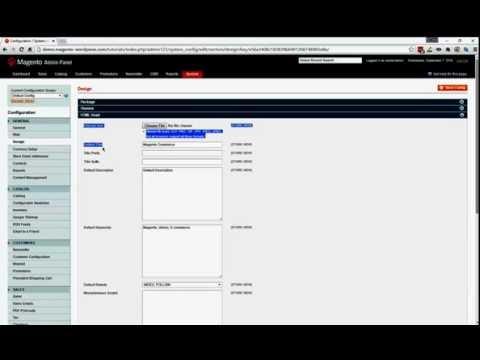 Magento:  SEO  - Change default title, description, keywords