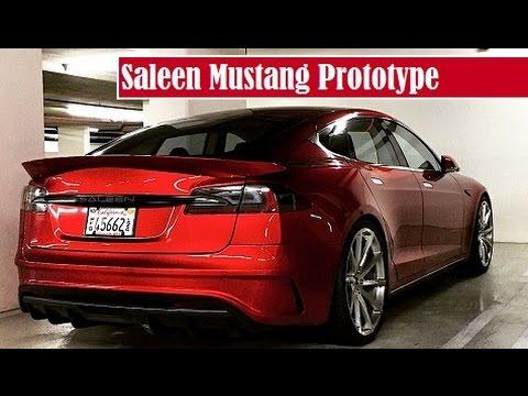 Saleen Mustang Prototype, spied parking in somewhere garage