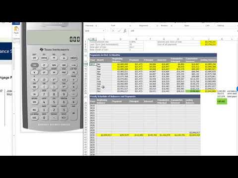 Mortgage Amortization Table - Calculator