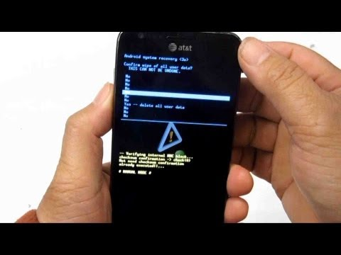 How to set a Samsung galaxy into a recovery mode