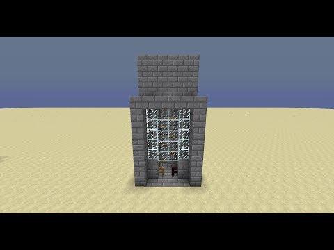 Minecraft Piston Elevator Tutorial - 1.7.4