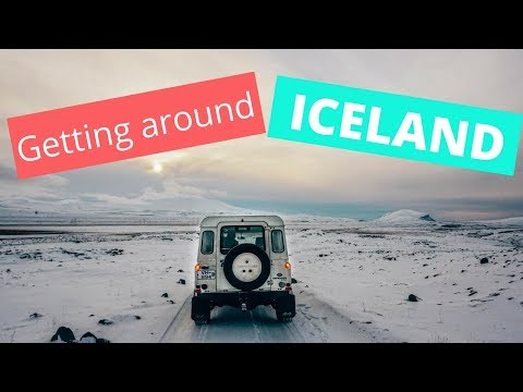 How to get around Iceland - Transportation Options